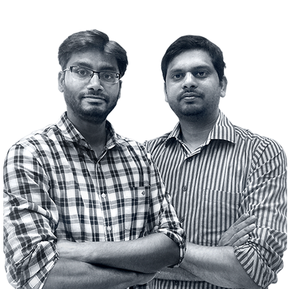 Krishna Kumar and Kunal Prasad, CropIn