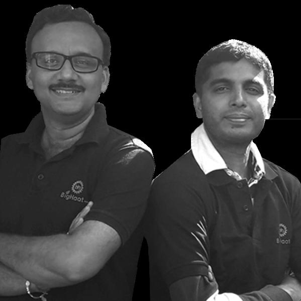 Sateesh Nakula and Sachin Nandwana, BigHaat