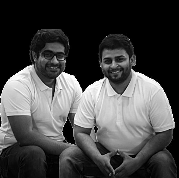 Kushagra Sinha, Sahil Sachdeva, Jiny Founders