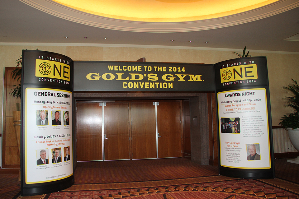Gold's Gym Convention