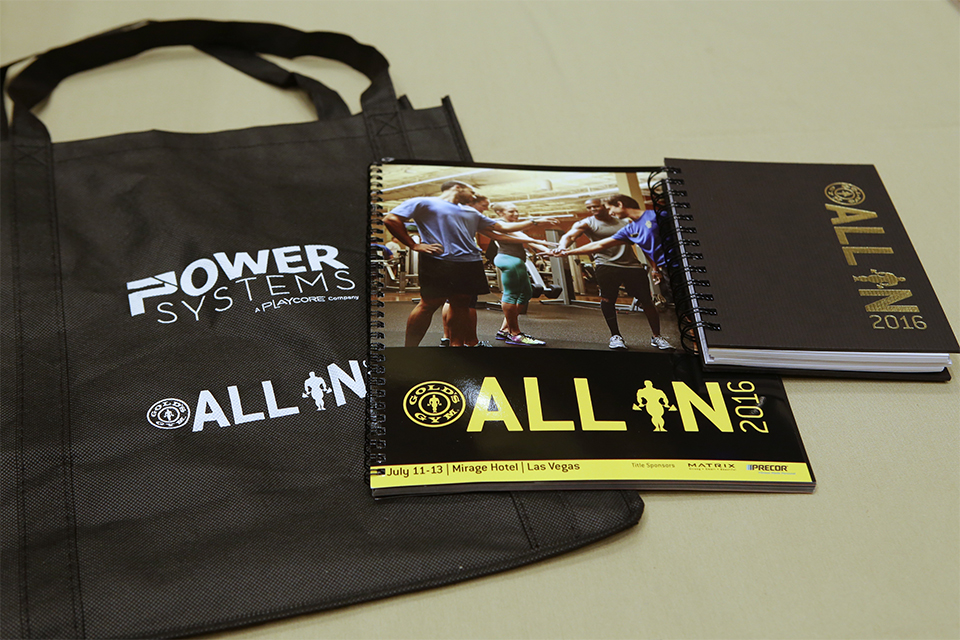 Gold's Gym Collateral