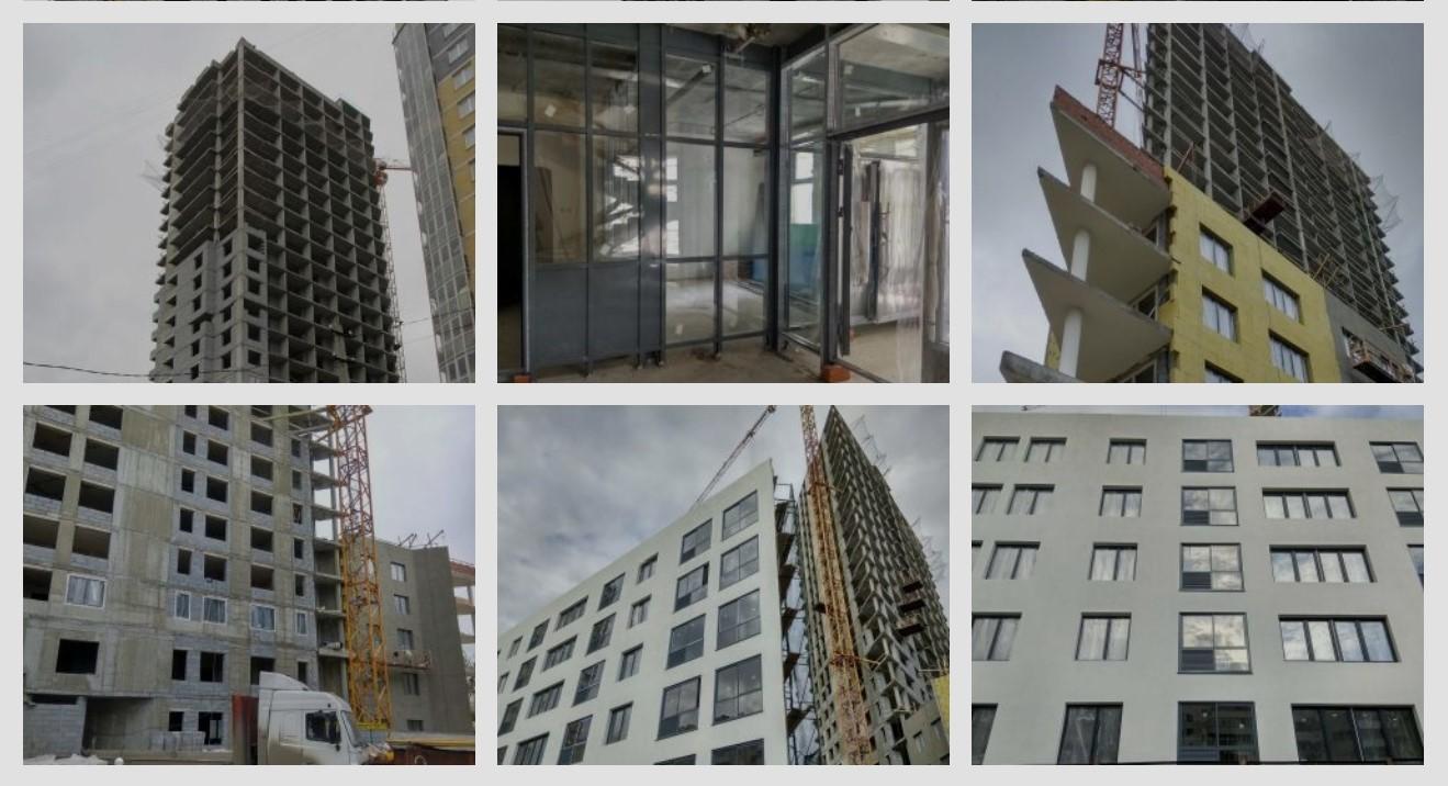 Ход строительства Екатеринбург