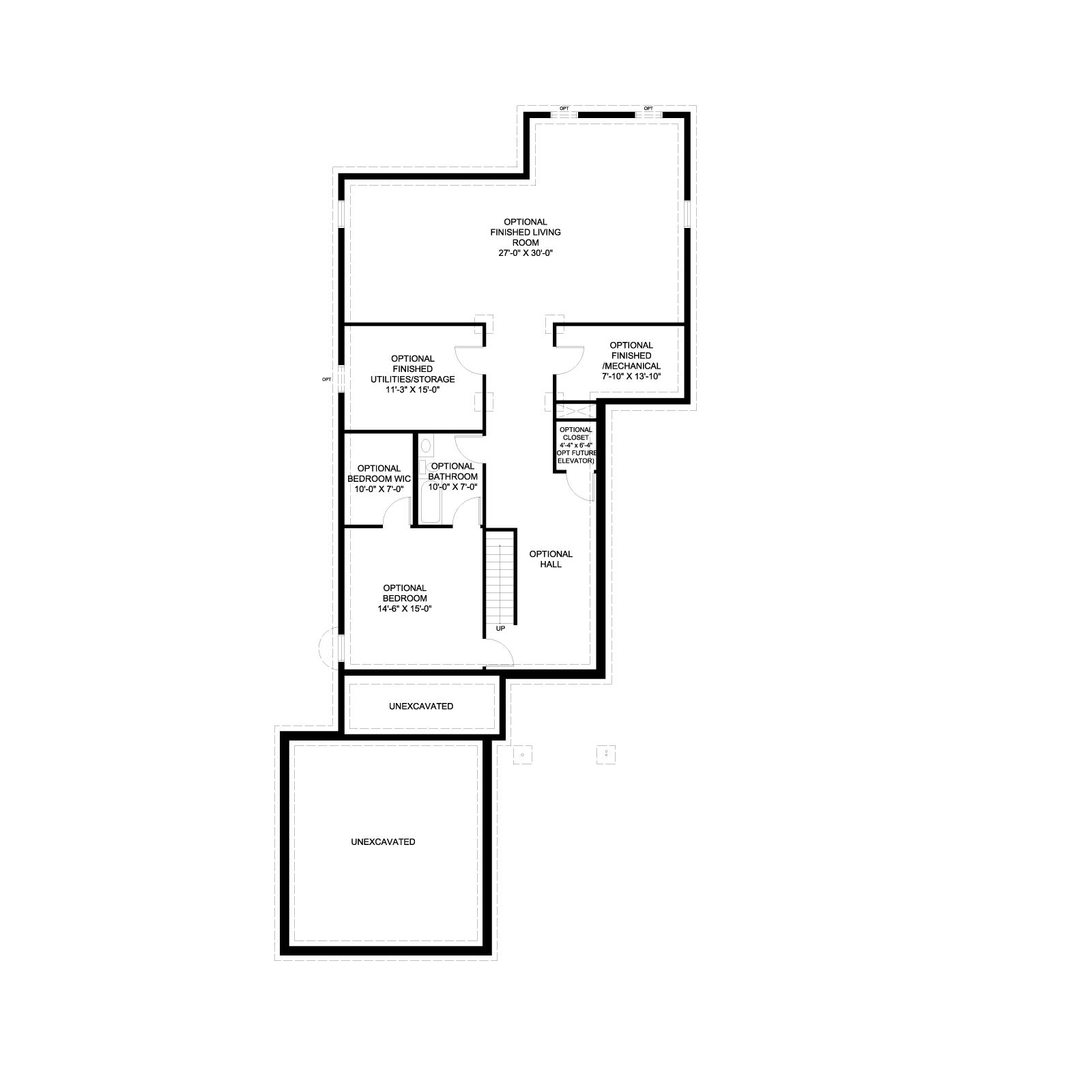 Home 1 Plan B_Base_Lower Level
