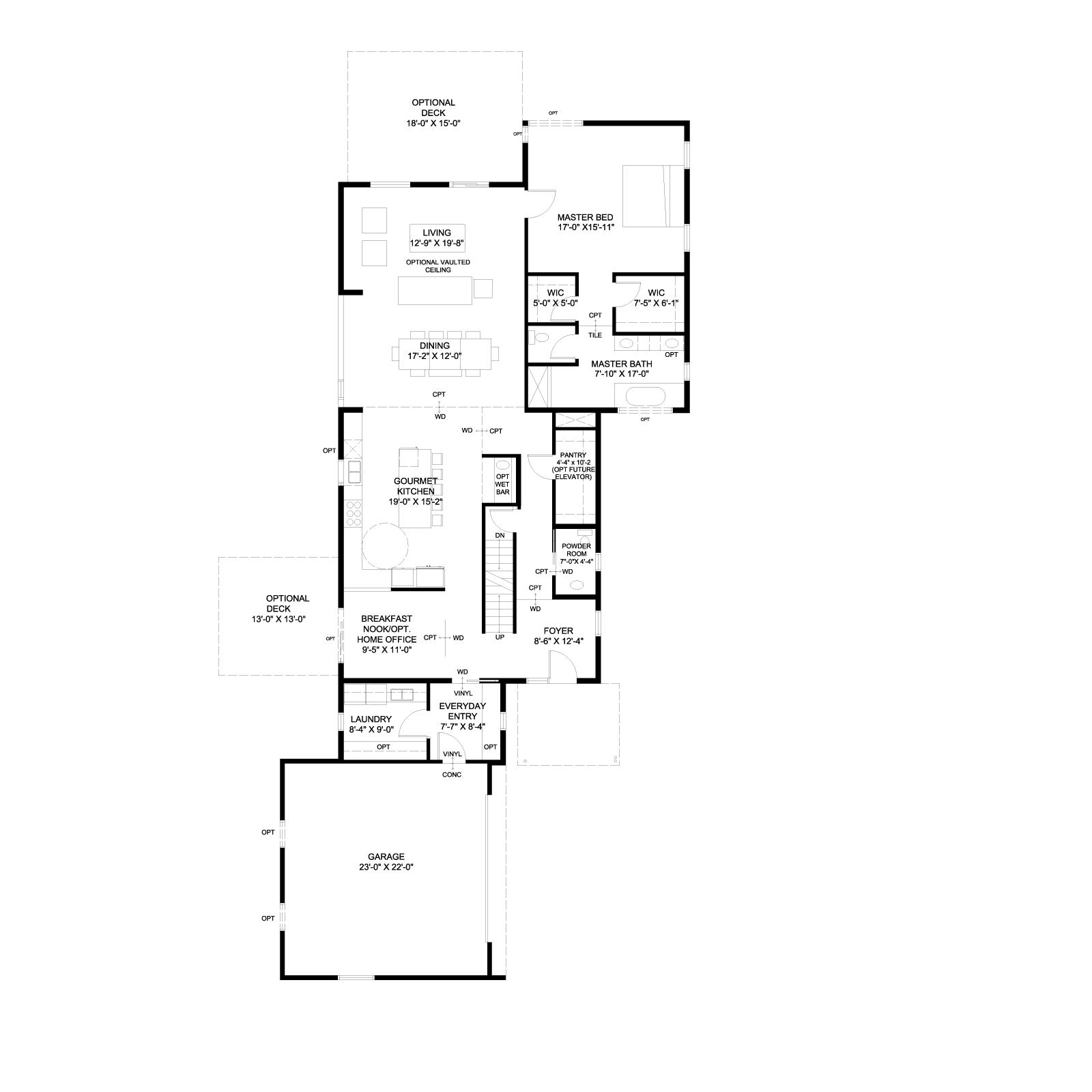 Home 1 Plan B_Base_First Floor