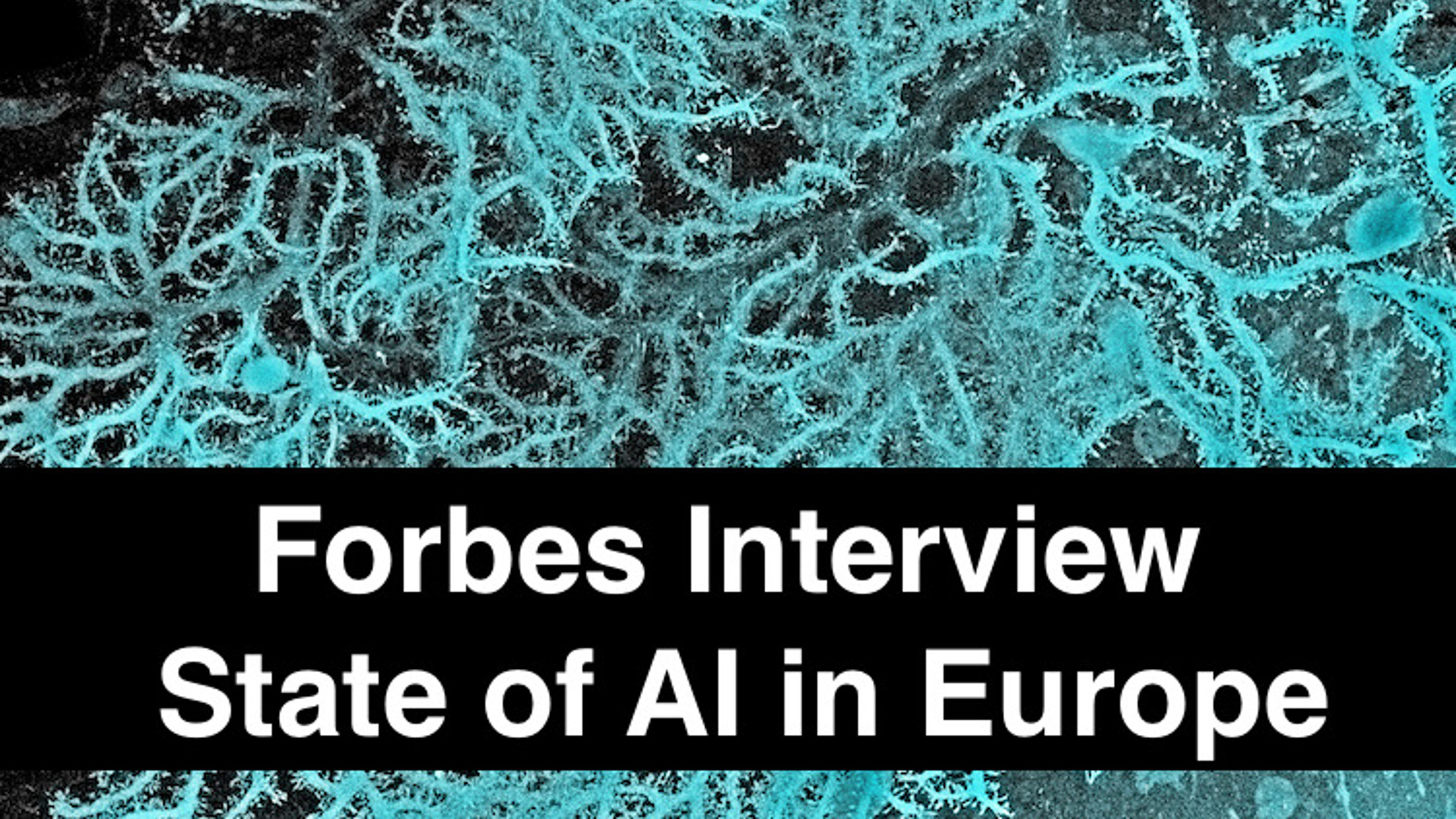Forbes Interview - State of AI in Europe