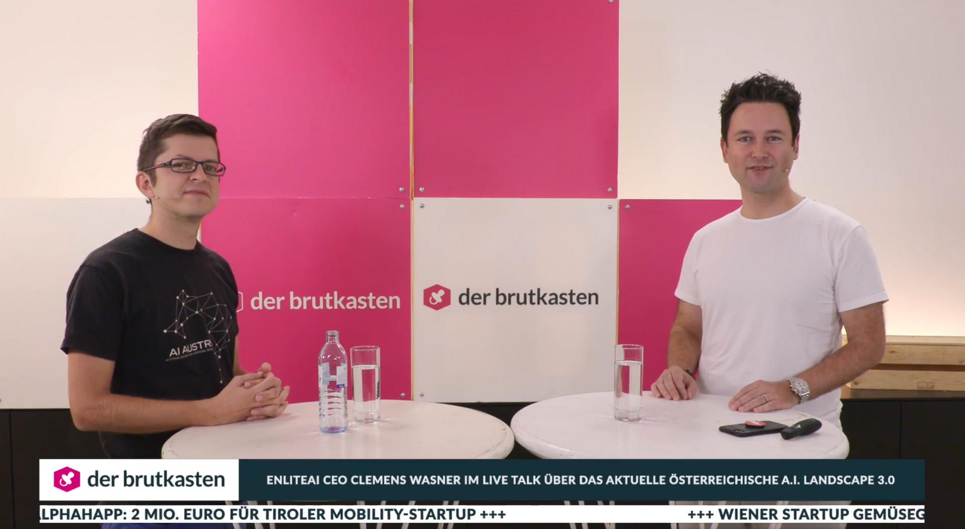 Startup portal der brutkasten interviewed us on the current state of AI in Austria.