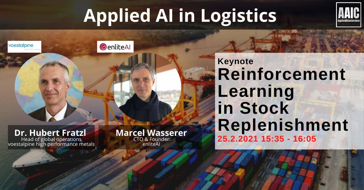 Keynote Announcement - enliteAI at the AAIC Logistics