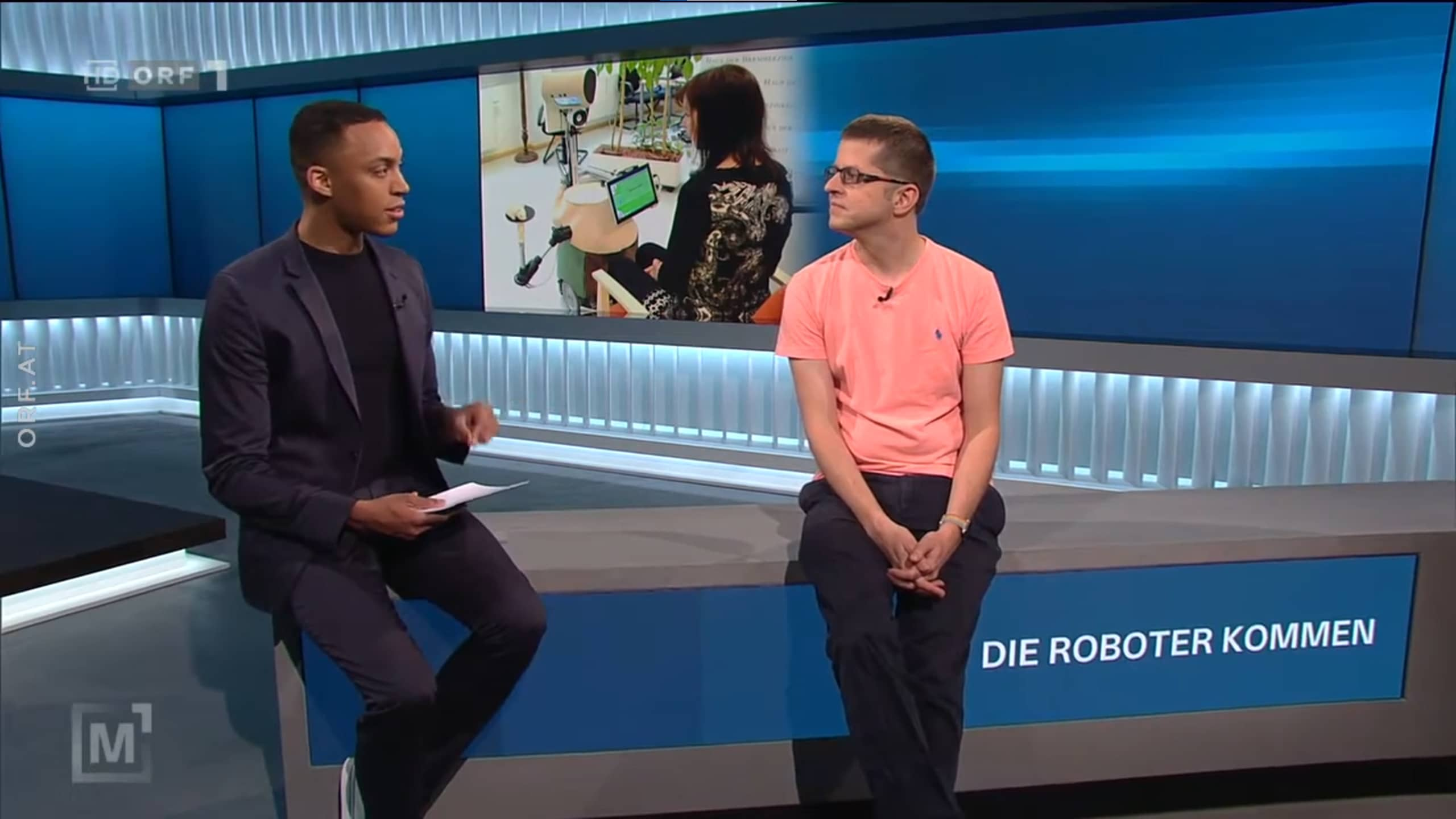 """Interview on national TV """"State of AI"""""""