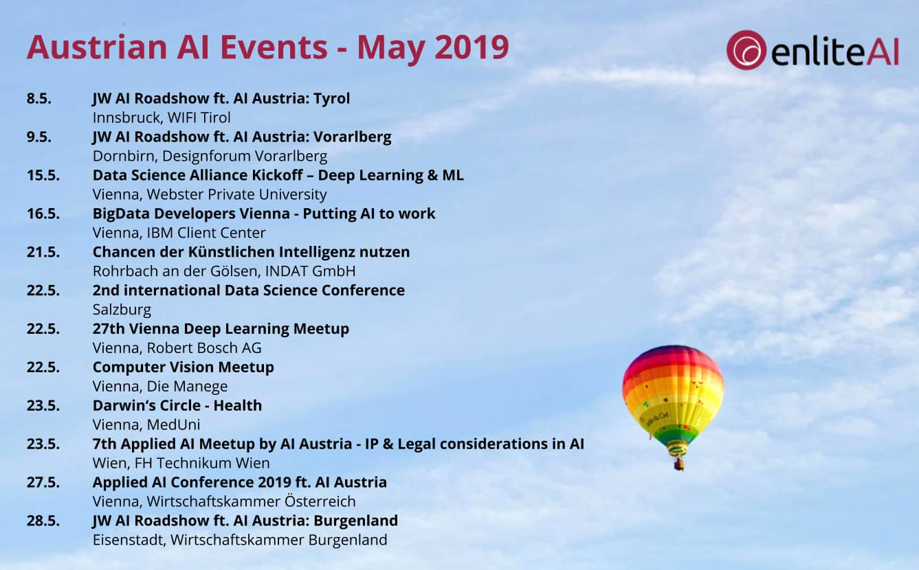 AI Events - May 2019