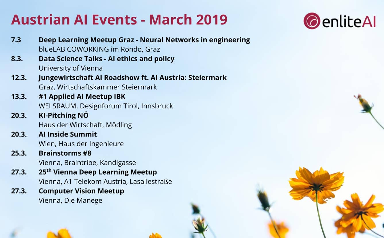 AI Events - March 2019