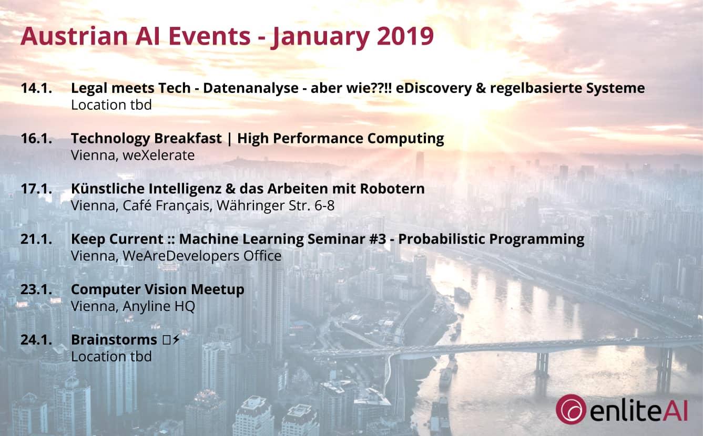 AI Events - January 2019