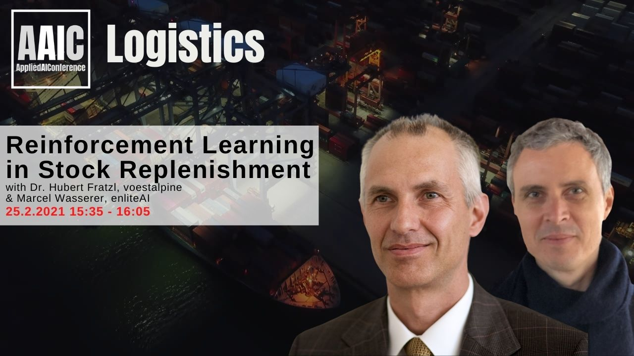 Our keynote at the AAIC - Applied AI Conference Logistics is now online ft. MazeRL