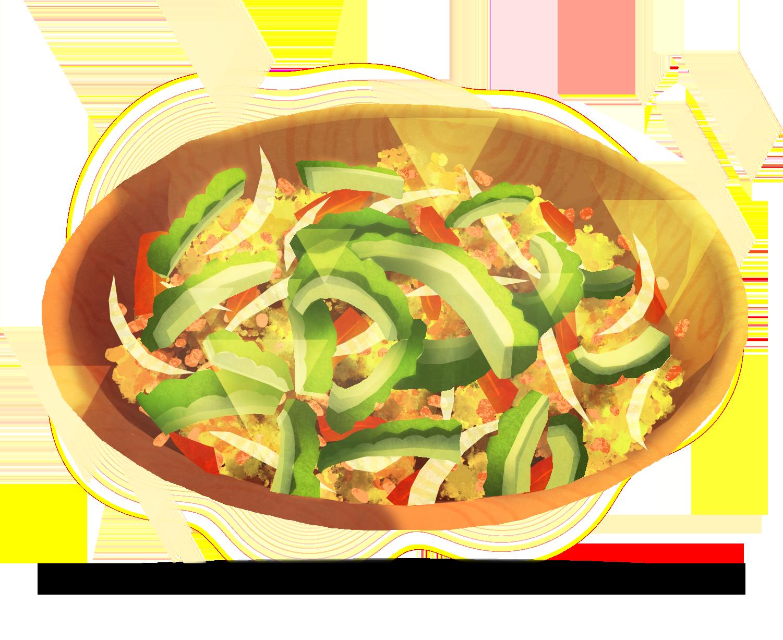 Ginisang Ampalaya Dish Filipino Sauteed Noodles