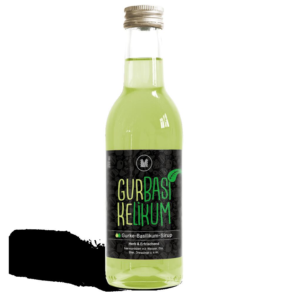 MUNDART Gurke-Basilikum-Sirup: Produktrange