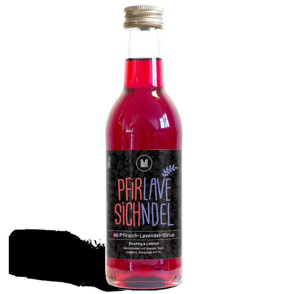 MUNDART Pfirsich-Lavendel-Sirup: Produktrange
