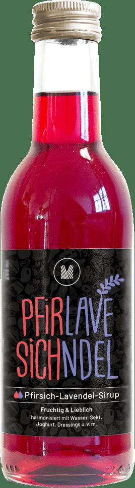 Pfirsich-Lavendel-Sirup (250 ml)