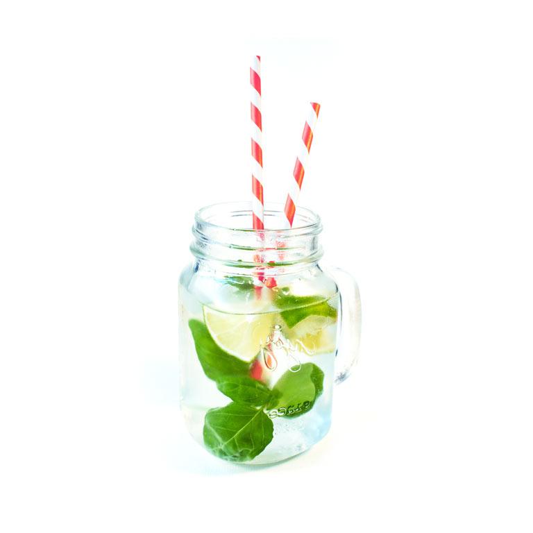 Rezept für zischende Limonade mit MUNDART Sirup