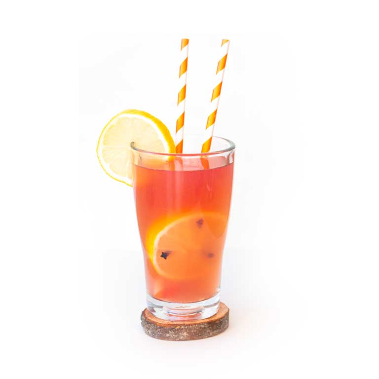 Rezept für winterlichem Cocktail mit Gin und MUNDART Sirup