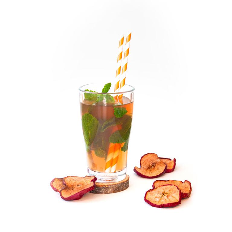 Rezept für selbst gemachten heißen Sektcocktail mit MUNDART Sirup