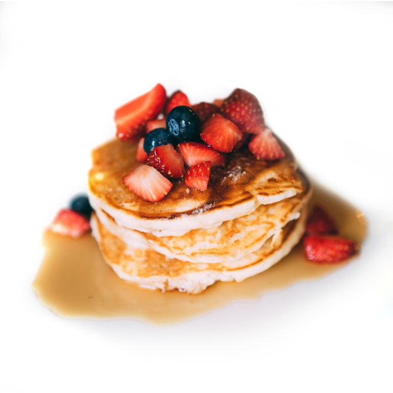 Rezept für leckere Pfannkuchen mit MUNDART Sirup