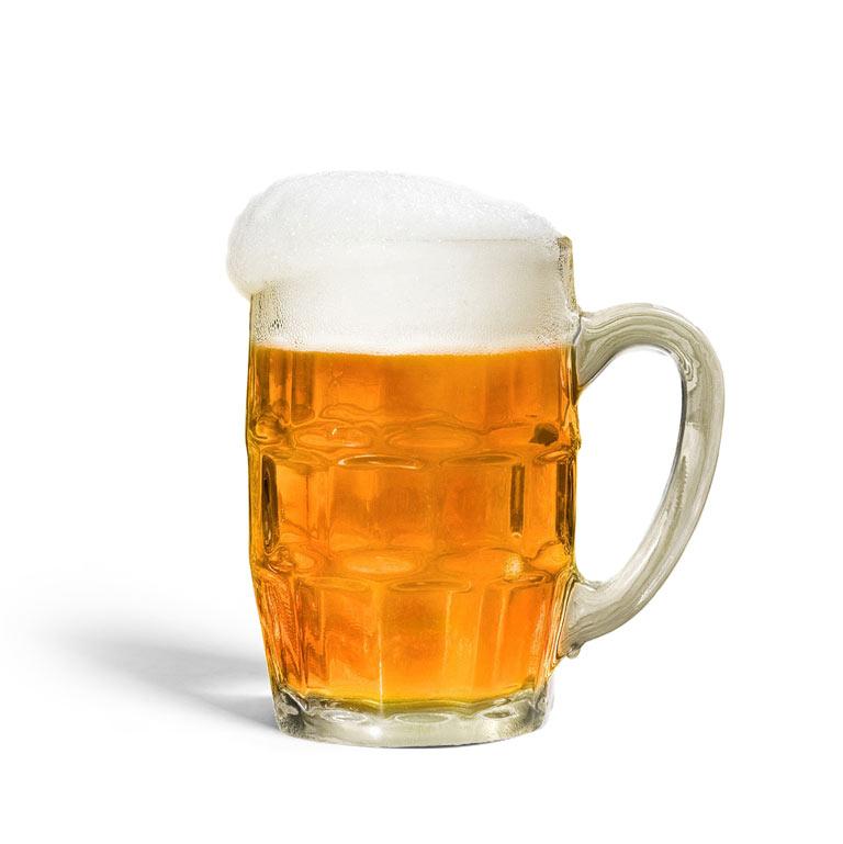 Rezept für ein selbst gemachtes Radler aus MUNDART Sirup und Bier