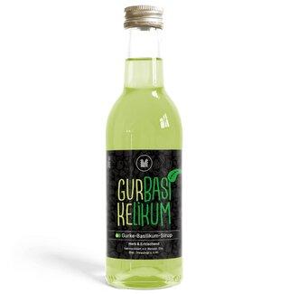Gurke-Basilikum-Sirup (250 ml)