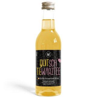 Quitte-Schwarztee-Sirup (250 ml)
