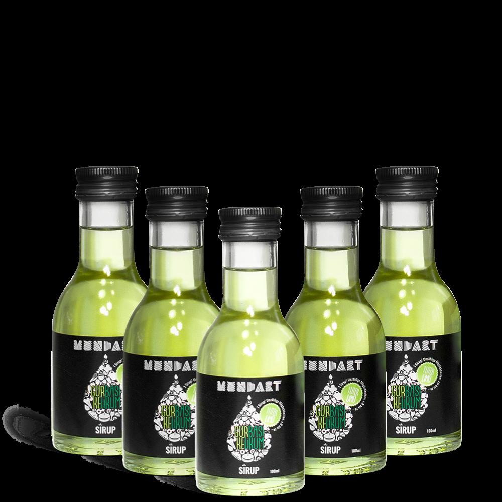 Gurke-Basilikum-Sirup (5x 100 ml)