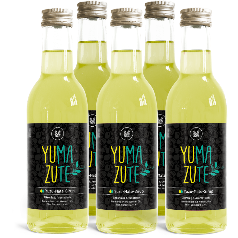 5x 250ml Yuzu-Mate-Sirup