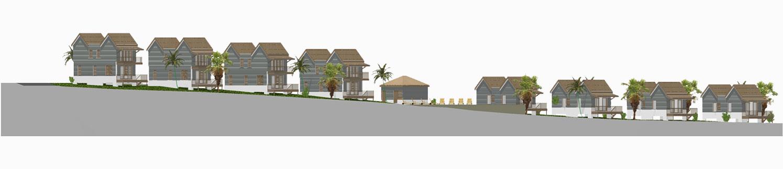 West Rock Villas Site Plan - Side