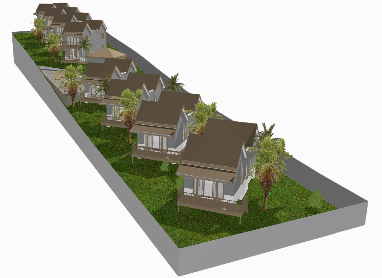 West Rock Villas Site Plan - Above