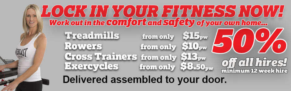 Treadmill Hire and purchase Fitness Equipment