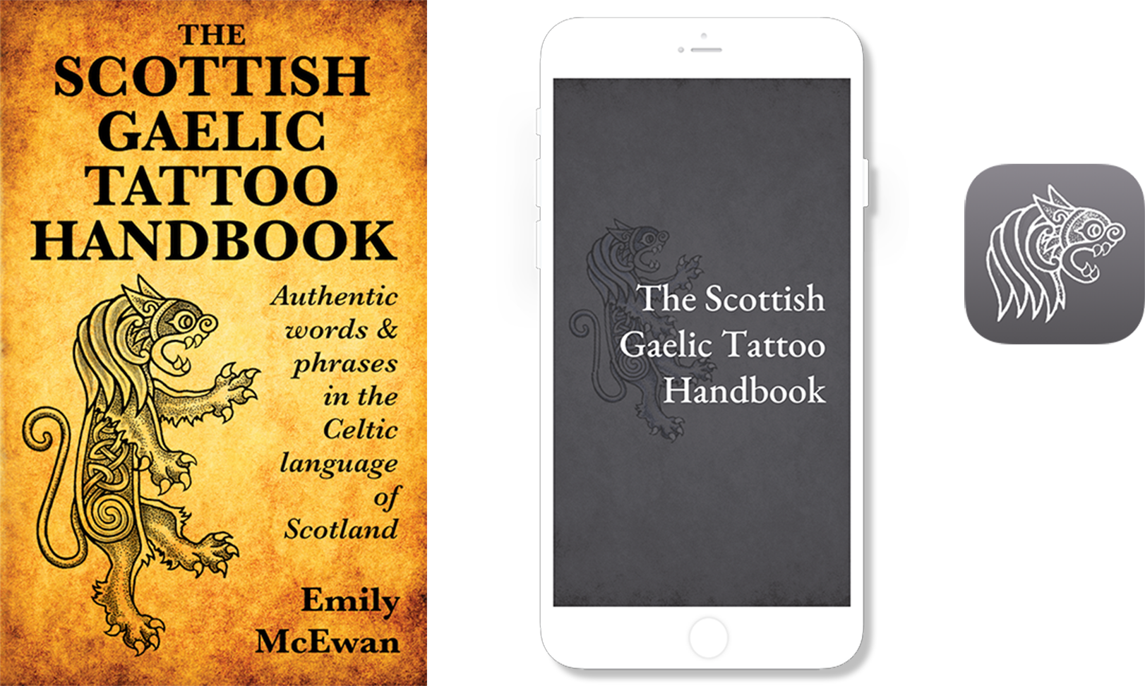 Scottish Gaelic Tattoo Handbook • Mobile App