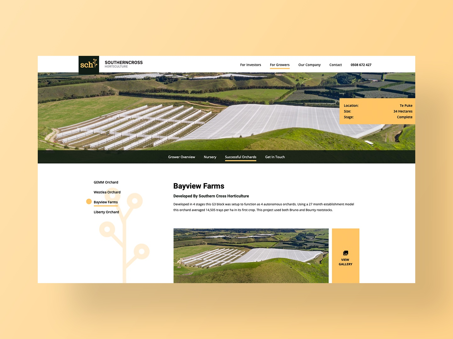 Southern Cross Horticulture Developments by Neon Hive