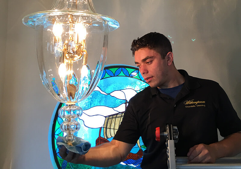 Glass Fixture Cleaning