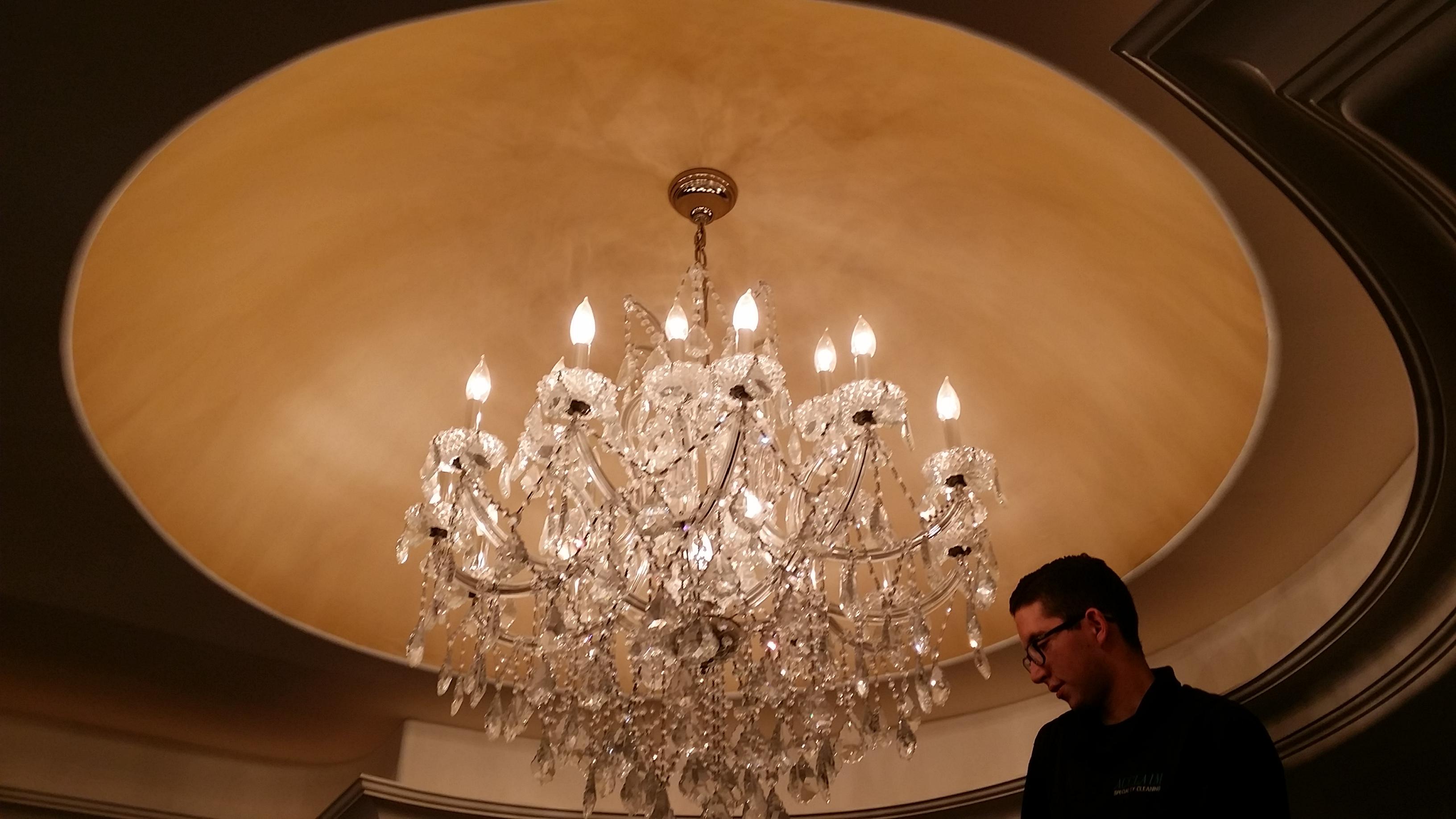 Recessed Ceiling Chandelier