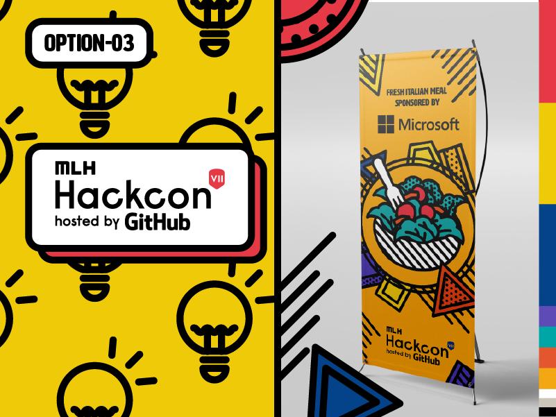 Victoria Yen's website-- Hackcon 2019 event branding