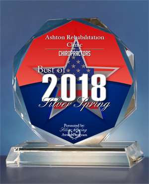 Best of 2018 Chiropractor Award | Ashton Rehabilitation Clinic