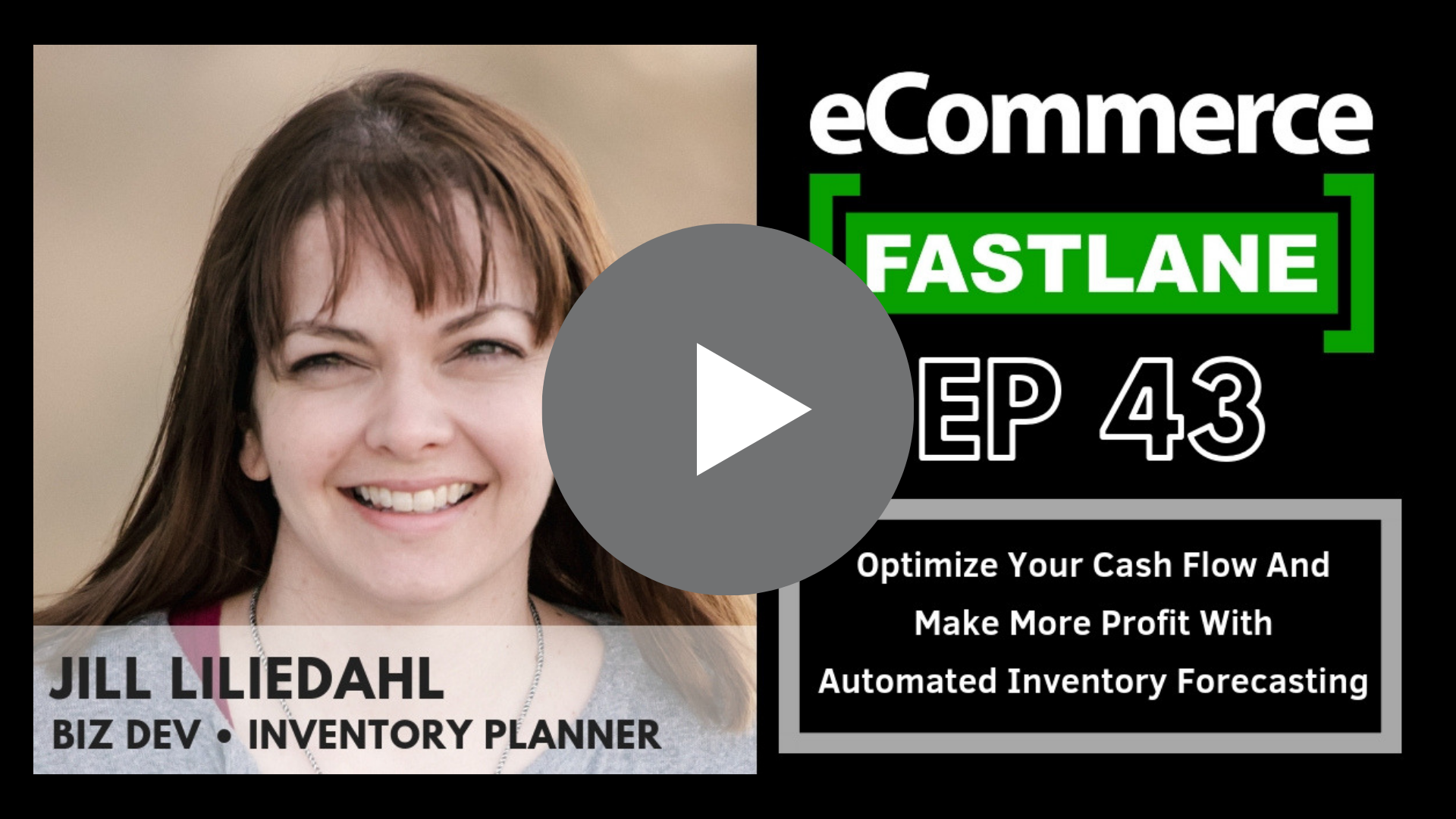 Listen to eCommerce Fastlane with Steve Hutt to hear more about optimizing your cash flow and making more profit with automated inventory forecasting