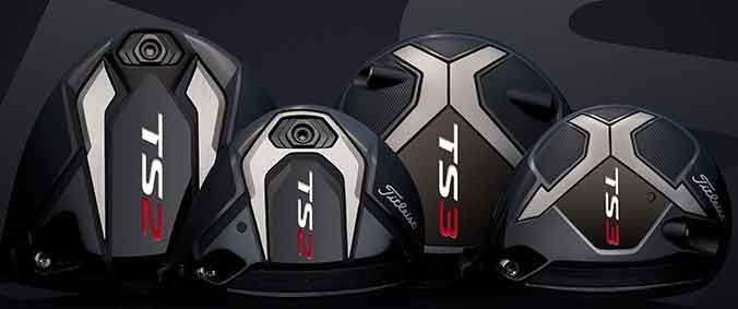 Titleist TS2 and TS3