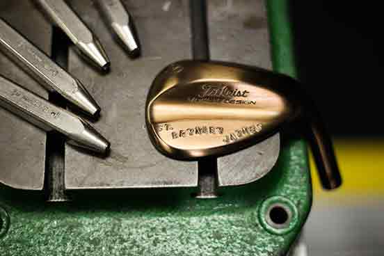 Vokey Oil Can Stamping