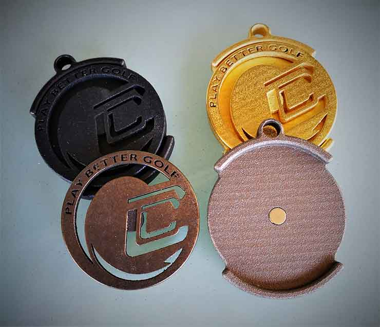 Cool Clubs Prototype Ball Marker