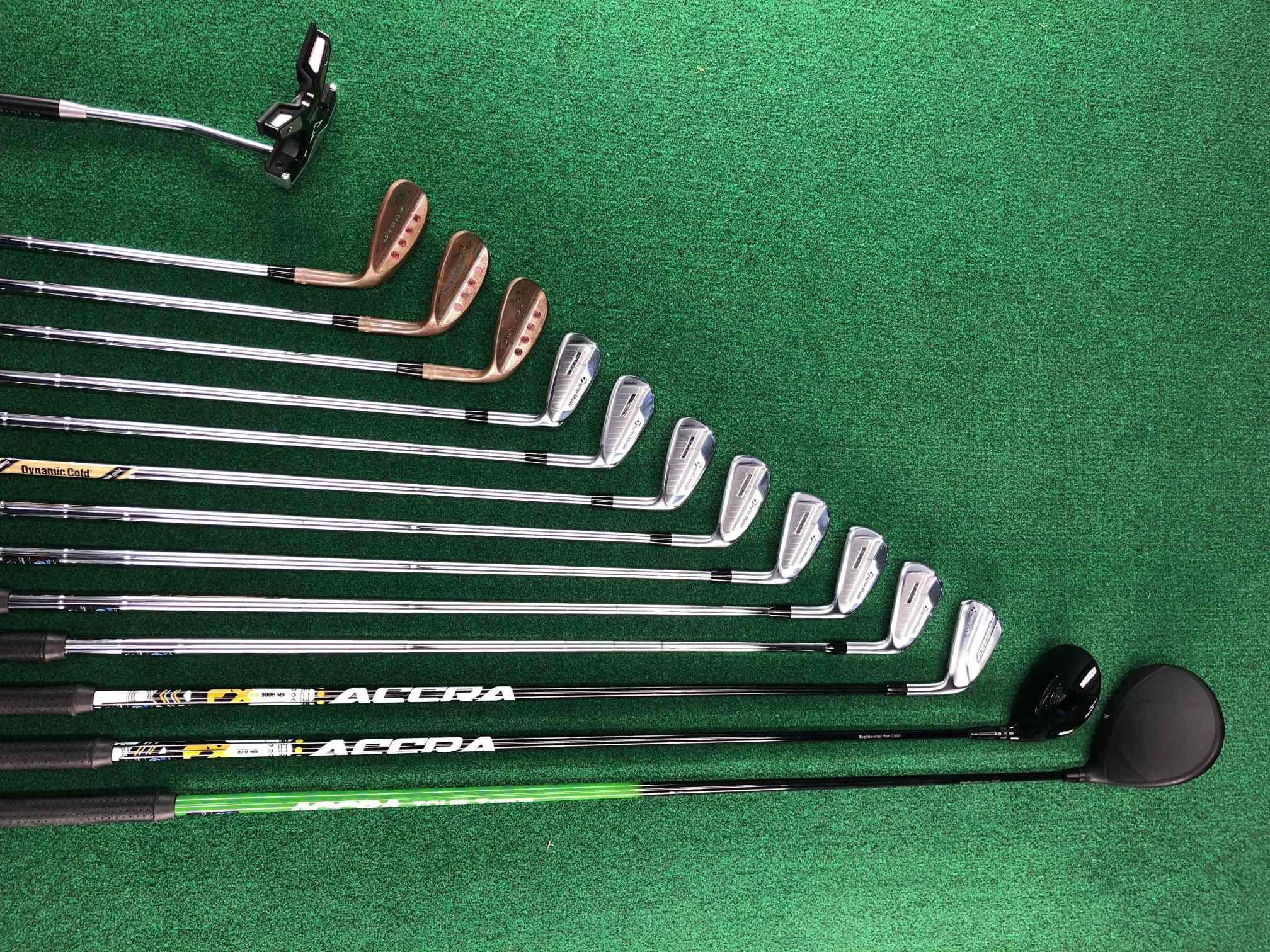 Josh Stewart golf set