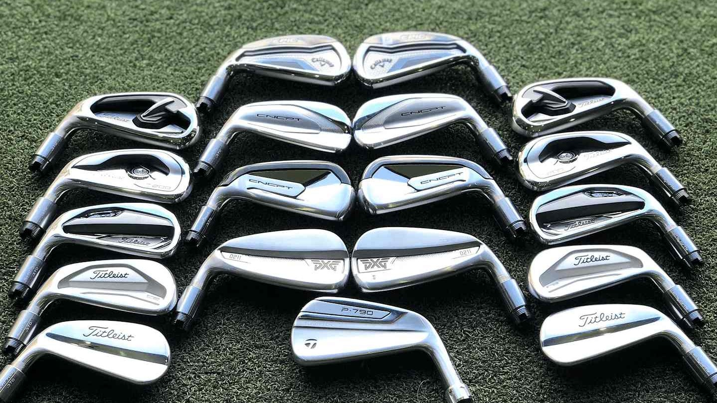 PXG 0211 Titleist T100, T200 T300 620CB 620MB CNCPT Callaway EPIC Forged Taylormade P790 2019