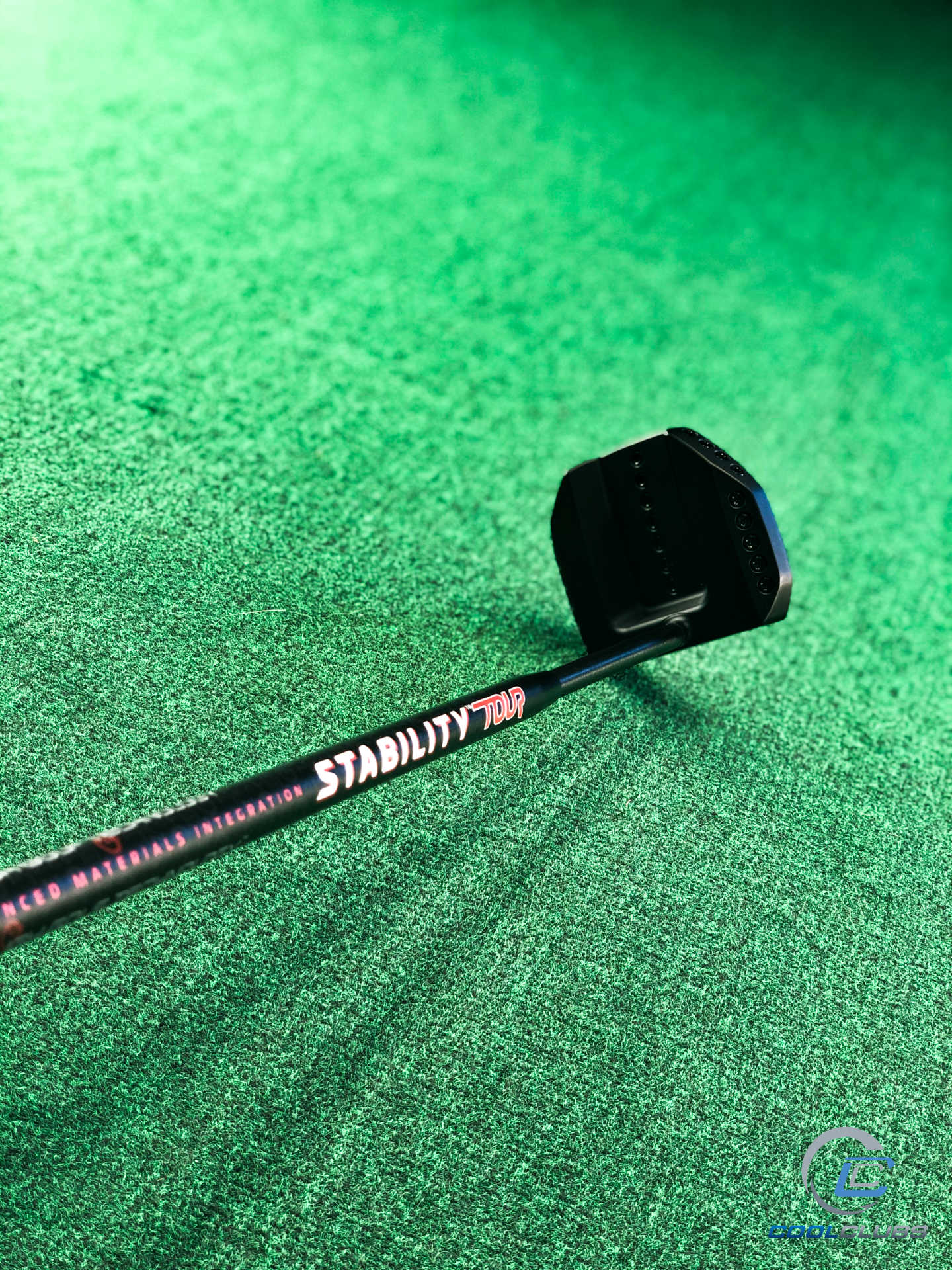 Stability Tour Shaft into a @PXG Drone Centre ShaftGarsen Max Grip