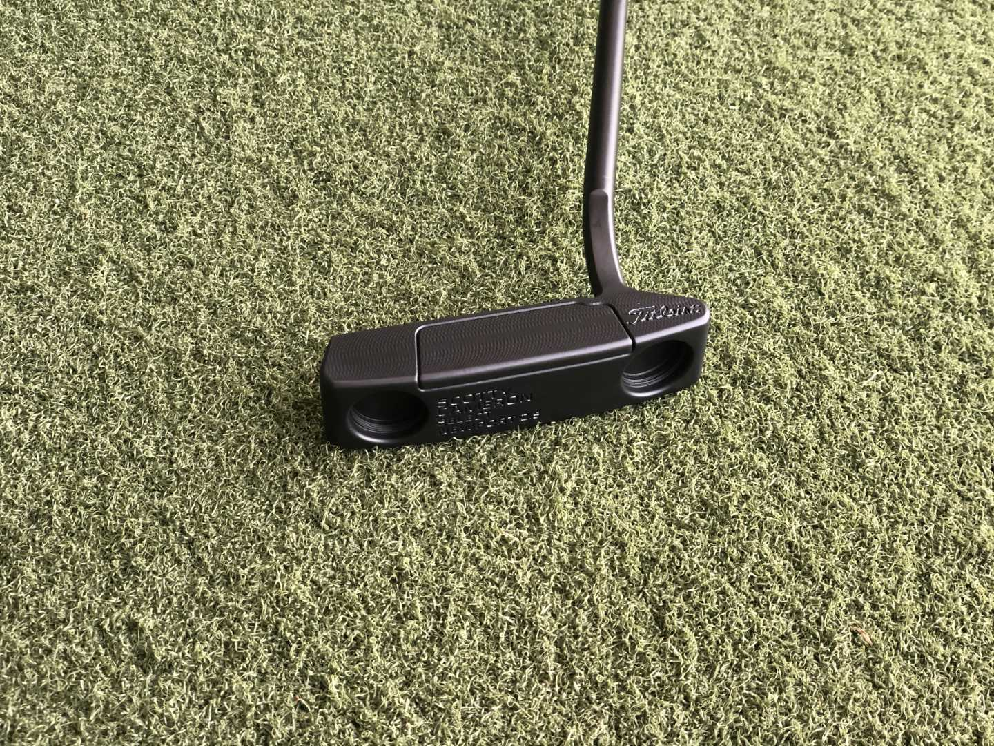 Custom blacked out Scotty Cameron putter.