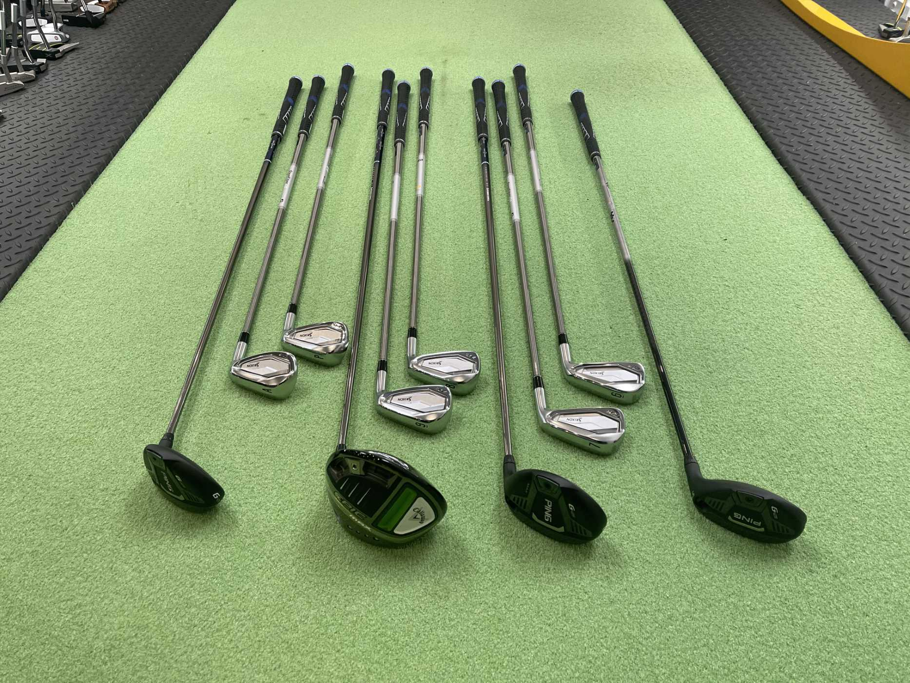 BOTW Callaway EPIC Max, Ping G425 Fairway & Hybrid Srixon ZX 5 all with SST Pured shafts
