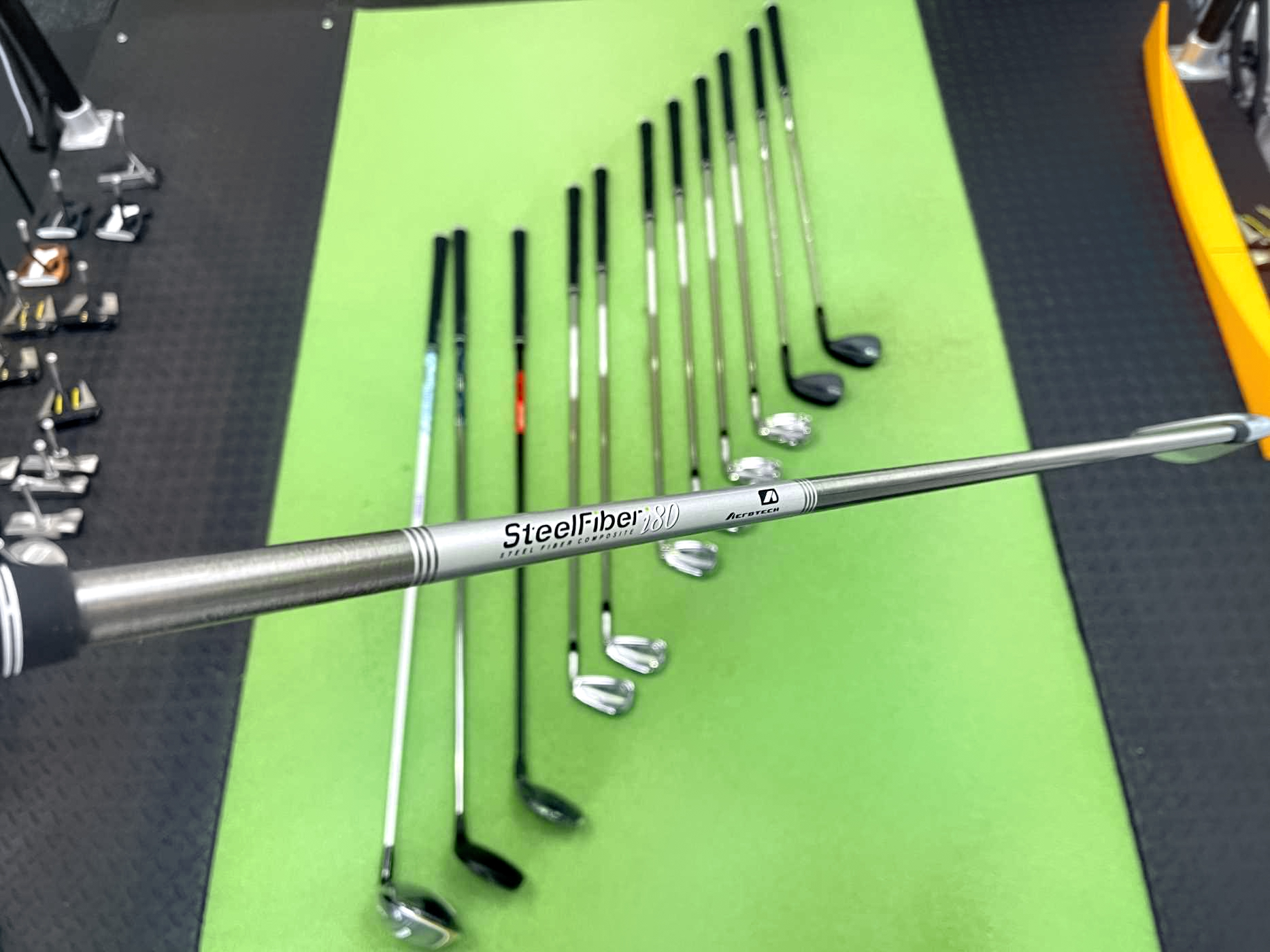 WITG Gerry - Calaway Mavrik, Ping G425, Titleist T100 and SM8 at Cool Clubs Melbourne