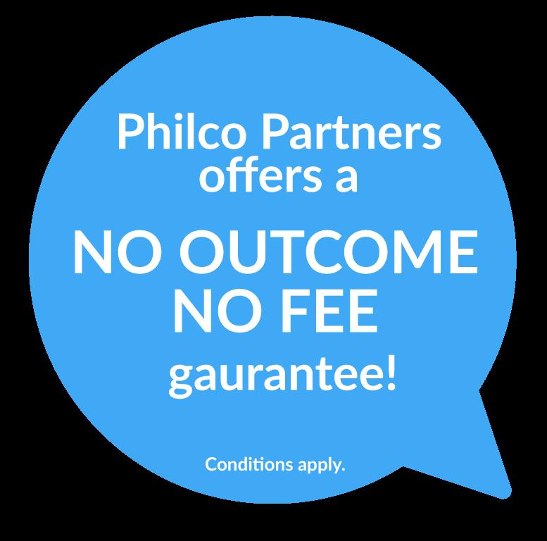 No outcome, no fee