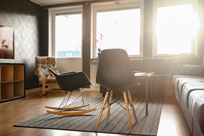 Sällskapsrum hos NY Hostel i Umeå